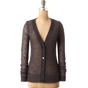 Anthro Charlie & Robin Airy Sparkle Cardigan